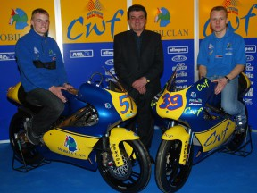 CWF Matteoni Racing hold official team presentation in Mugello