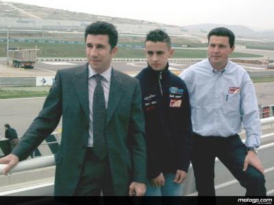 Hector Barbera officially presented as Team Aspar rider in Valencia