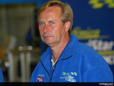 Il consulente tecnico Suzuki Warren Willing dà delucidazioni sull'evoluzione del GSV-R 4 tempi
