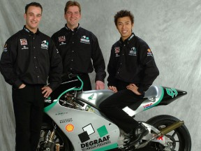 DeGraaf Grand Prix Team presents Haruchika Aoki and Jarno Janssen