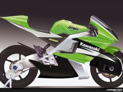 Kawasaki release first pictures of MotoGP prototype racer