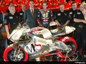 Aprilia officially present 2002 line-up at Mugello