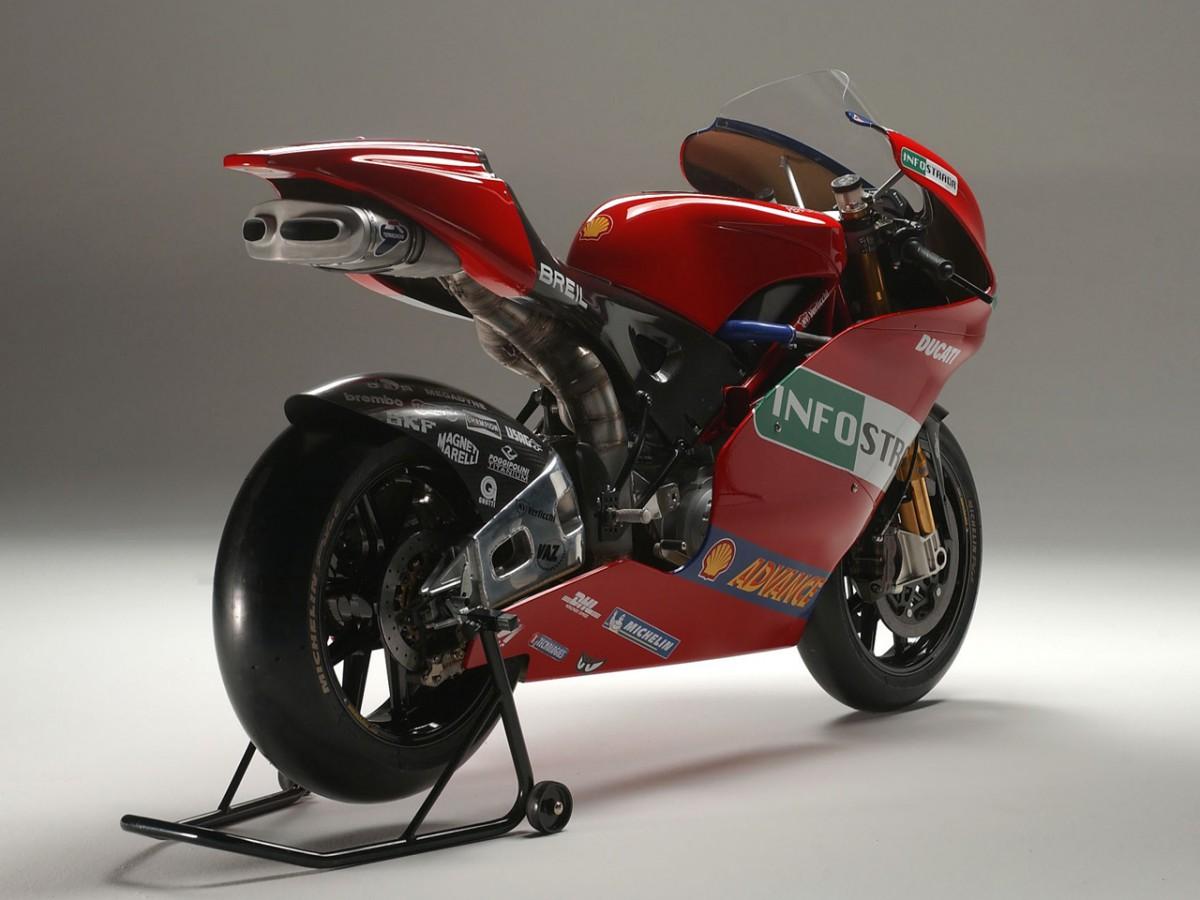 First pictures of the new Ducati MotoGP prototype | MotoGP™