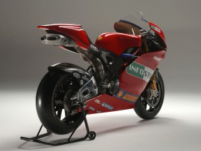 First pictures of the new Ducati MotoGP prototype