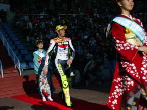 MotoGP World Championship riders presented in Suzuka