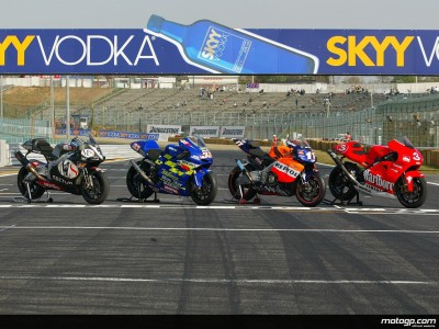4 stroke machines line-up at Suzuka ahead of first face-off of the season