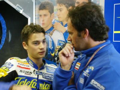 Daniel Pedrosa décroche la pole 125 devant Pablo Nieto