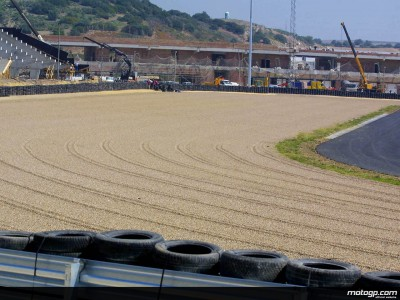 Modifications at the Circuit of Jerez continue apace