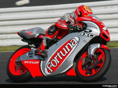 Rain less of a concern for Gresini in 2002