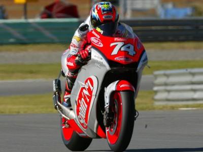 Les NSR 500 de Capirossi et de Katoh mènent le bal en MotoGP