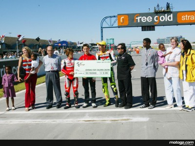 MotoGP community donates $10,000 to AIDS/HIV sufferers