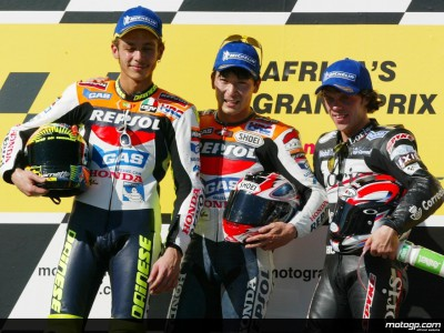 Quotations from the top three riders in the MotoGP race