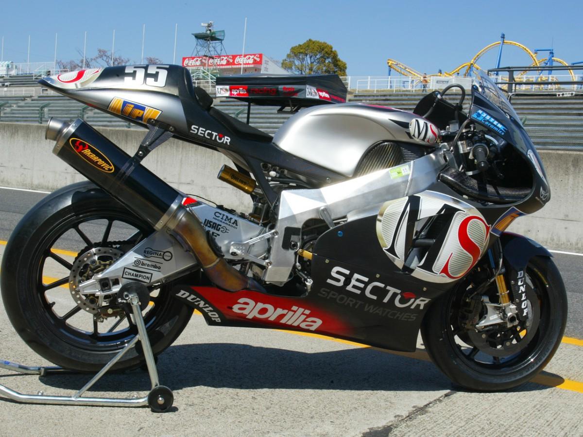 Aprilia prepare third RS Cube 4 stroke at private tests in Mugello | MotoGP™