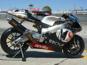Aprilia prepare third RS Cube 4 stroke at private tests in Mugello