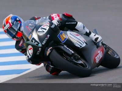 Melandri snatches provisional pole right at the last