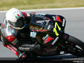 Steve Jenkner: l´esperienza tedesca nella 125 si è fatta di nuovo vedere a Jerez