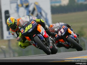 Rossi claims victory after rain-affected race in Le Mans