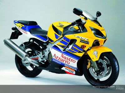 Honda to launch the CBR 600FR `Rossi´