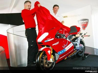 Ducati dévoile sa MotoGP au Mugello