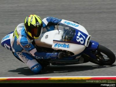 ポリーニ、グランプリに参戦