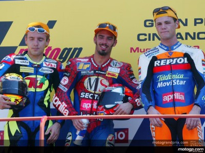 Quotes from the top three riders after the race