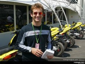 Jarno Trulli swaps four wheels for two at Mugello
