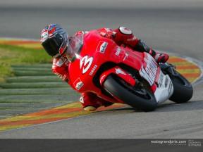 Il team Marlboro Yamaha ultima i test a Valenza