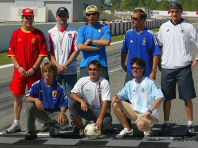 World Cup fever takes over the MotoGP paddock