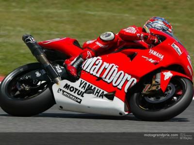 Max Biaggi in pole per la prima volta nel 2002