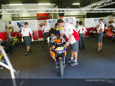 Straight back to work for MotoGP in Catalunya