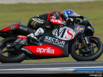 Melandri clinches pole as conditions again play their part