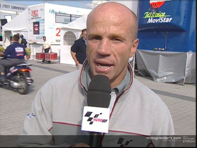 Randy Mamola gives his thoughts on the Gauloises Dutch TT