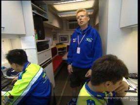 Una visita a las intalaciones del equipo Telefónica Movistar Suzuki