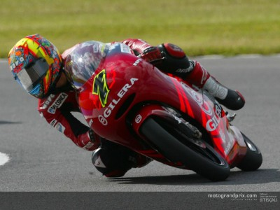 Poggiali snatches provisional pole position from Pedrosa
