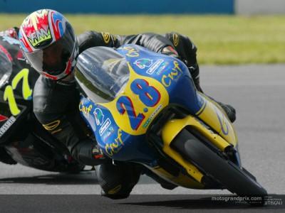 Ivan Goi effectue son retour en Grand Prix à Donington