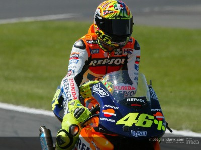 Rossi claims his 46th victory on his 100th GP appearance
