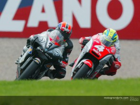 Melandri wins a rain-interrupted race