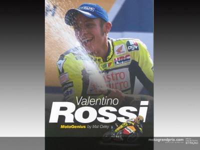 ´Valentino Rossi, MotoGenius´, a new biography of the Italian Champion