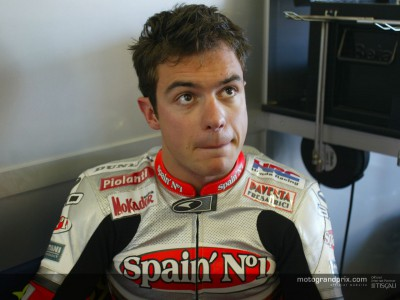 Roby Rolfo catches his breath before Brno