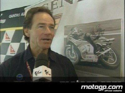 Barry Sheene struck by cancer