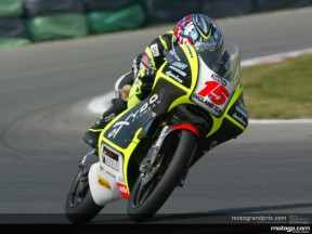 Debut pole for De Angelis at Brno