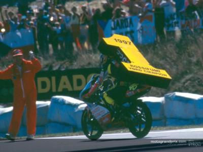 Sporting profile of MotoGP World Champion Valentino Rossi
