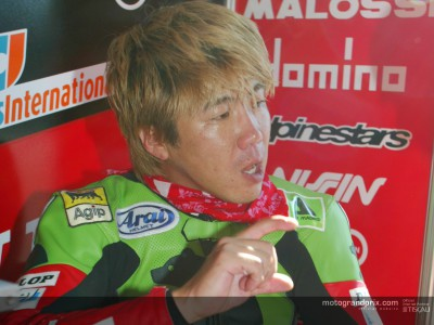Youichi Ui festeggia il Gran Premio numero 100 a Rio