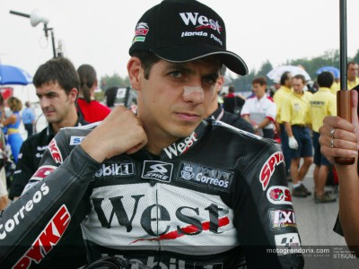 Barros passe sur Honda RC211V au Motegi