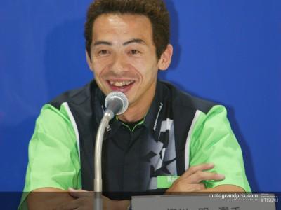 Akira Yanagawa enthousiaste à l´approche des débuts de la Kawasaki Ninja ZX-RR
