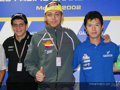 Declaraciones previas al inicio del Gran Premio Gauloises del Pacífico