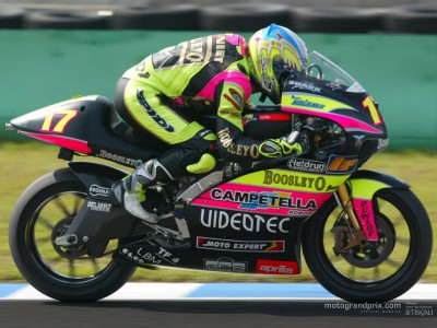 Quotes from the top three riders on the provisional grid