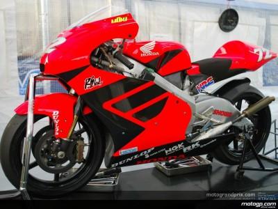 Honda aligne la nouvelle RS250 au Motegi