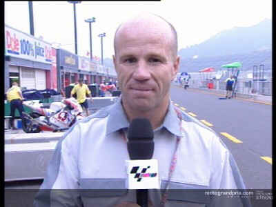 Randy Mamola reflects on the Gauloises Pacific Grand Prix of Motegi