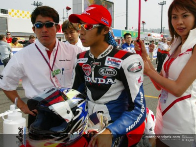 A new life in the pit lane for Tady Okada